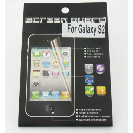 Oem - Screen protector Samsung Galaxy SII 00381 - Protective foil for Samsung - 00381