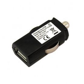 Autolader adapter USB 2.1A Black SUPER TINY ON1744