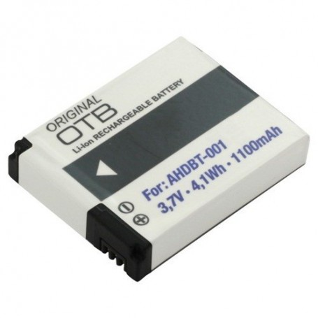OTB - Batterij voor GoPro HD Hero Li-Ion 1100mAh - GoPro foto-video batterijen - ON1748 www.NedRo.nl