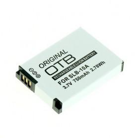 Battery for Samsung SLB-10A / JVC BN-VH105 750mAh