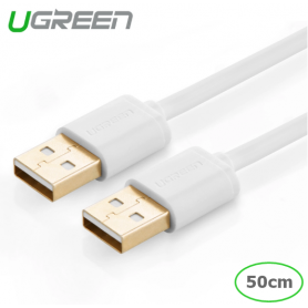 UGREEN - USB 2.0 A Male to A Male Cable - USB naar USB kabels - UG214-CB www.NedRo.nl