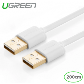 UGREEN, USB 2.0 A Male to A Male Cable, Cabluri USB la USB, UG214-CB, EtronixCenter.com
