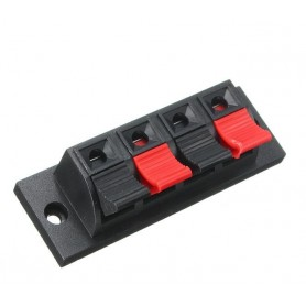NedRo - Terminal Block Wire Cable Clip For LED Single Color Strip - LED connectors - AL325 www.NedRo.us