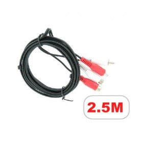 NedRo - RCA extension cable - Audio cables - YPC504 www.NedRo.us