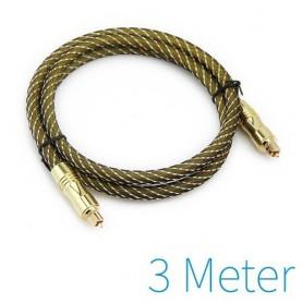 NedRo - Optische Toslink kabel gold plated - Audio kabels - YAK031 www.NedRo.nl