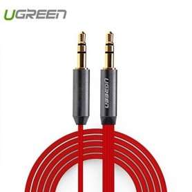 UGREEN - 3.5mm Male-Male Audio Jack Ultra Flat cable - Audio cables - UG254-CB www.NedRo.us