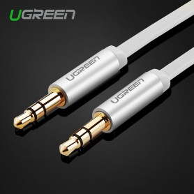 UGREEN - 3.5mm Male-Male Audio Jack Ultra Flat cable - Audio cables - UG247 www.NedRo.us