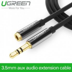 UGREEN - Premium 3.5mm Audio Jack cablu extensie UGREEN - Cabluri audio - UG022 www.NedRo.ro