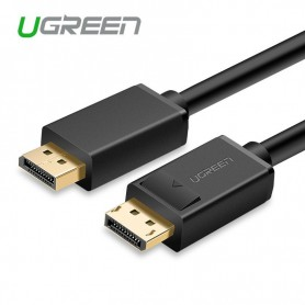 UGREEN - Displayport DP Male to Male cable Black - Displayport en DVI kabels - UG203 www.NedRo.nl
