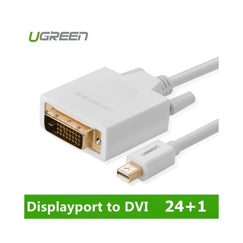 Mini Displayport DP to DVI 24+1 Cable Adapter