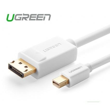 UGREEN - Mini DisplayPort Male to Displayport Male Cable - Displayport and DVI cables - UG340-CB www.NedRo.us