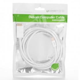 UGREEN - Mini DisplayPort Male to Displayport Male Cable - Displayport en DVI kabels - UG339 www.NedRo.nl