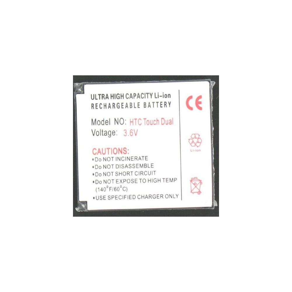 Accu Batterij Voor De HTC Touch Dual Li-Ion Slim P024