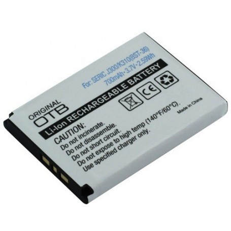 NedRo, Battery for Sony Ericsson BST-36 Li-Ion ON105, Sony phone batteries, ON105