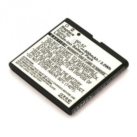 unbranded, Battery for Nokia BP-5Z Li-Ion ON157, Nokia phone batteries, ON157
