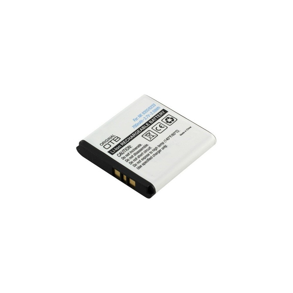 NedRo - Battery for Nokia BP-6M 700mAh 3.7V Li-Ion ON158 - Nokia phone batteries - ON158 www.NedRo.de