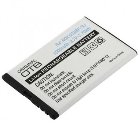 NedRo, Battery for Nokia 603 / Asha 303 / Lumia 610 / Lumia 710 ON166, Nokia phone batteries, ON166