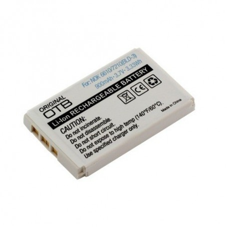 unbranded, Battery for Nokia BLD-3 900mAh Li-Ion, Nokia phone batteries, ON167