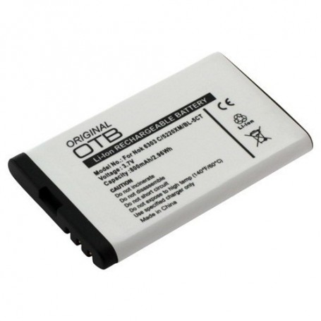 unbranded, Battery for Nokia BL-5CT Li-Ion ON182, Nokia phone batteries, ON182