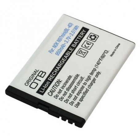 unbranded, Battery for Nokia N8 E5 E7 BL-4D 950mAh Li-Ion 3.7V, Nokia phone batteries, ON193