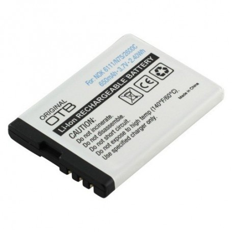 NedRo - Battery for Nokia BL-4B Li-Ion ON198 - Nokia phone batteries - ON198 www.NedRo.us