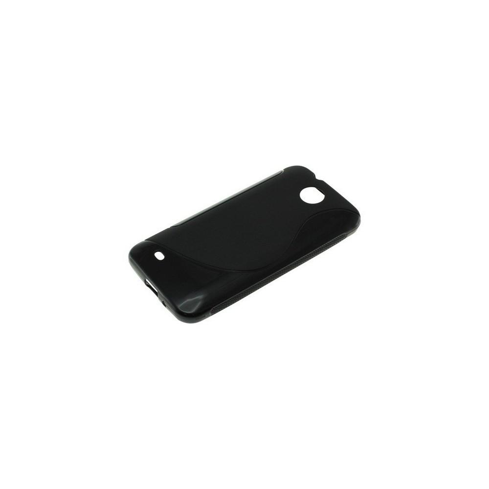 NedRo - TPU Case voor HTC Desire 300 S-Curve Black ON630 - HTC telefoonhoesjes - ON630 www.NedRo.nl