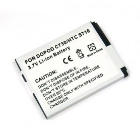 Battery For HTC S710/S730/VDA5 (BA S180) Li-Ion ON792