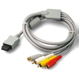 NedRo - S-Video AV + RCA (composite) cable for Nintendo Wii 1.8m YGN576 - Nintendo Wii - YGN576 www.NedRo.us