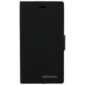 COMMANDER Bookstyle case for Wiko Ridge 4G