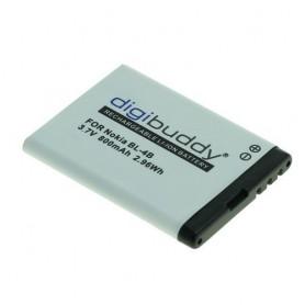 Accu voor Nokia BL-4B Li-Ion 800mAh ON1905