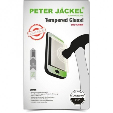 Peter Jäckel, Peter Jackel HD Gehard glas voor Wiko Getaway, Wiko gehard glas , ON1893, EtronixCenter.com