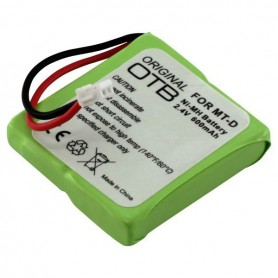 Battery for AVM FRITZ!Fon MT-D NiMH 2.4V 600mAh