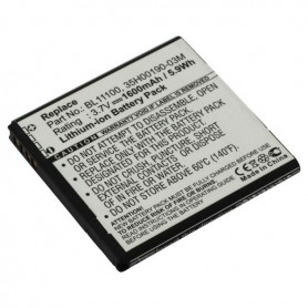 Battery for HTC BA S800 Li-Ion ON2307