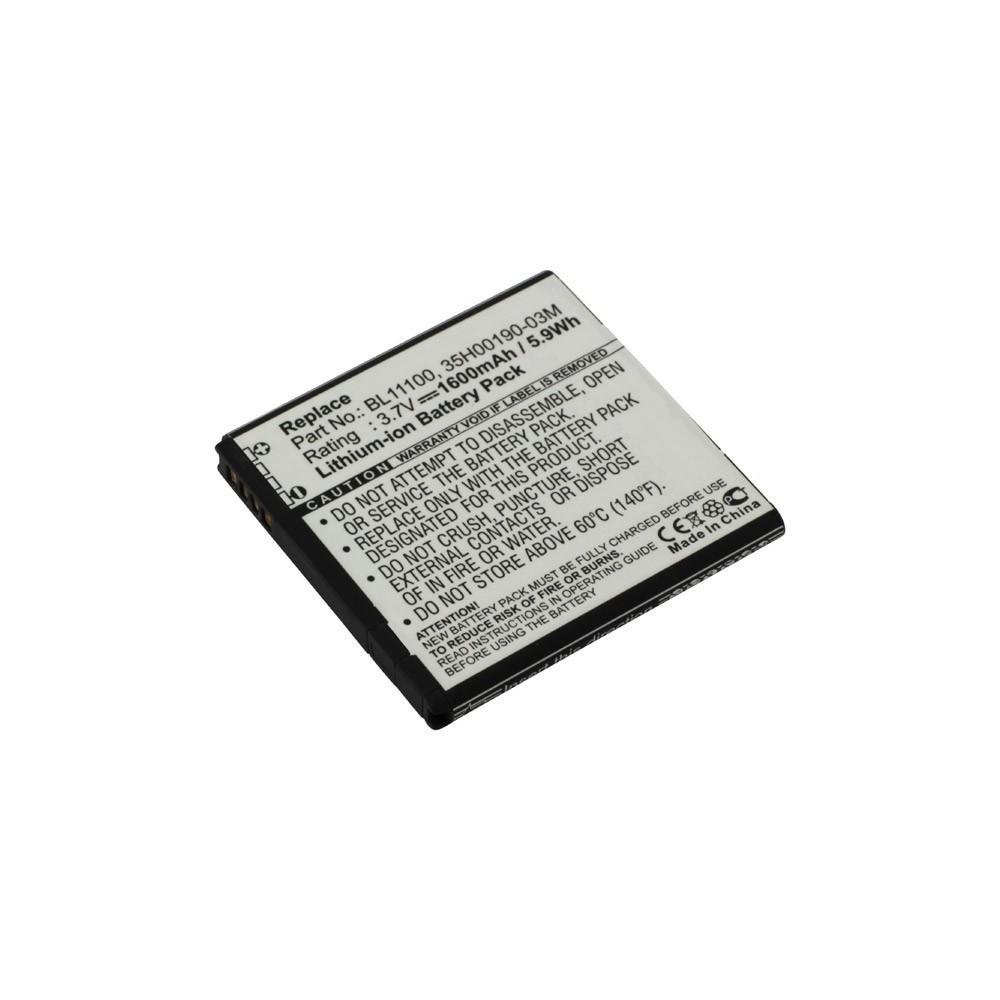 Batterij voor HTC BA S800 Li-Ion ON2307