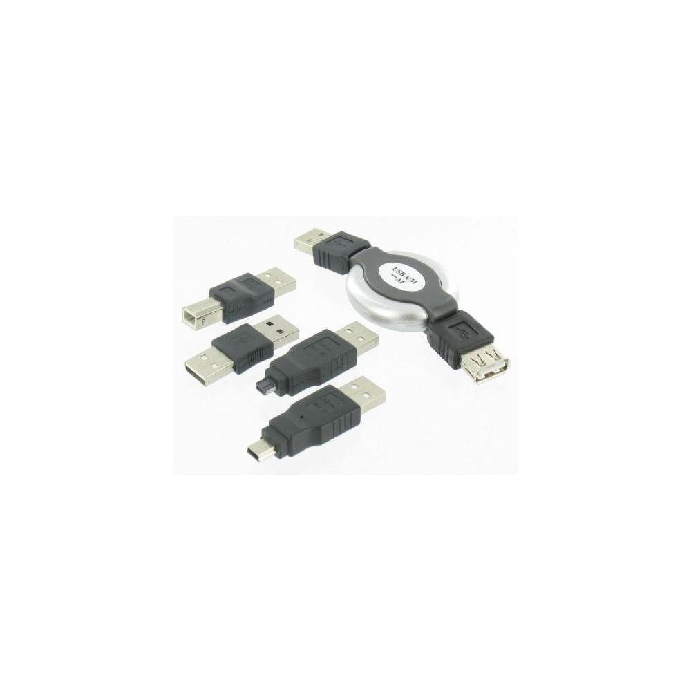 Unbranded - 5in1 Kit USB pentru Laptop PC PDA GSM MP3 Camera - Adaptoare USB - YPU003 www.NedRo.ro