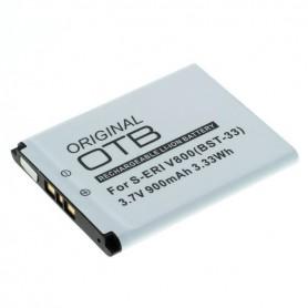 Battery for Sony Ericsson K800/V800/W900/P990 BST-33