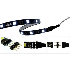 10x 4pin M-M 5050 RGB LED Strip Connector Solderless