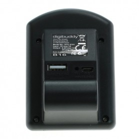 OTB - USB lader voor Canon NB-12L ON2850 - Canon foto-video laders - ON2850-C www.NedRo.nl