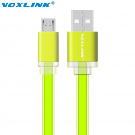 NedRo - Ultra Flat USB to MicroUSB Cable - USB to Micro USB cables - AL703 www.NedRo.us