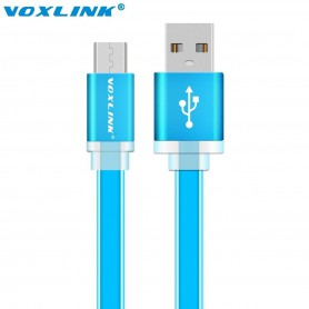 NedRo - Ultra Flat USB to MicroUSB Cable - USB to Micro USB cables - AL713 www.NedRo.us