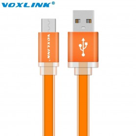 NedRo - Ultra Flat USB to MicroUSB Cable - USB to Micro USB cables - AL716 www.NedRo.us