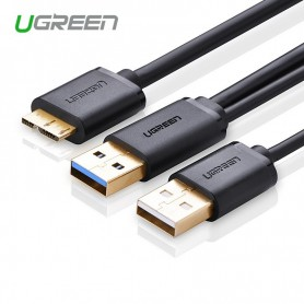 UGREEN - USB 3.0 A Male to Micro B Male Cable + charging - USB 3.0 kabels - UG060-CB www.NedRo.nl