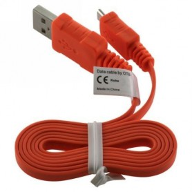 OTB - Micro USB Data Cable Ultra Flat - USB to Micro USB cables - ON072 www.NedRo.us