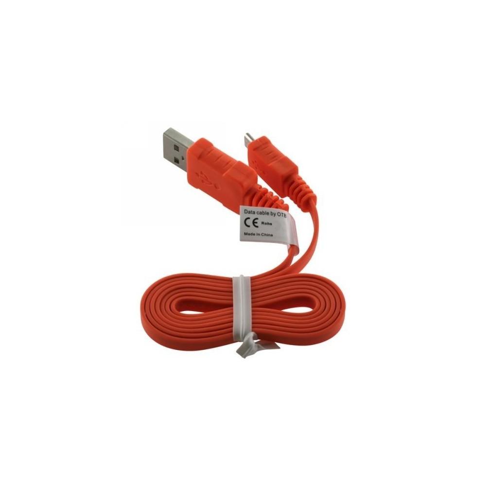 USB Kabel Ladekabel Datenkabel Flachkabel für HTC Desire S
