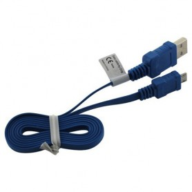 OTB - Micro USB Data Cable Ultra Flat - USB to Micro USB cables - ON035 www.NedRo.us