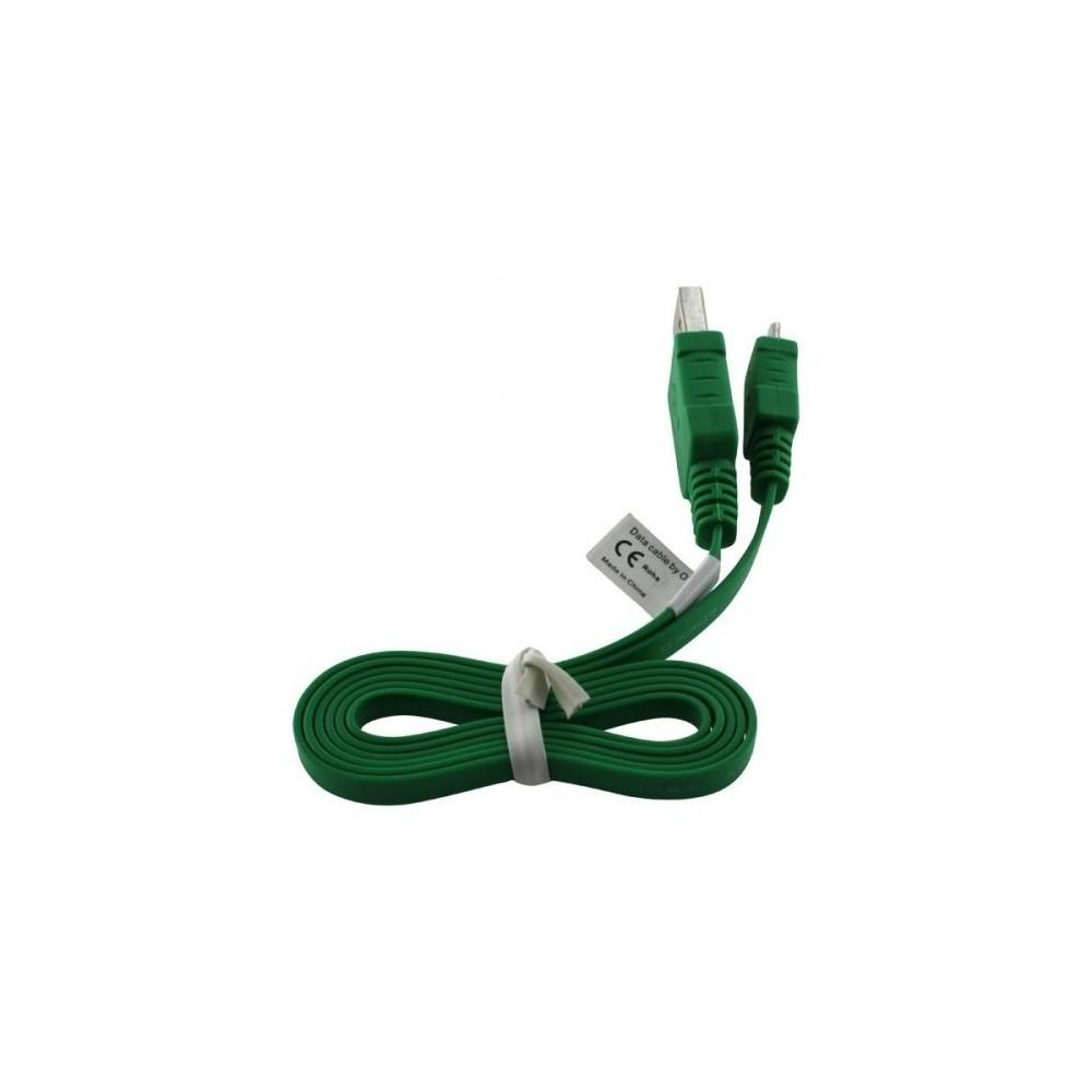 USB Kabel Ladekabel Datenkabel Flachkabel für Mobistel Cynus E4 E7 F10