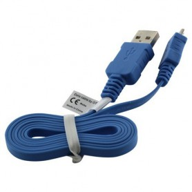 OTB - Micro USB Data Cable Ultra Flat - USB to Micro USB cables - ON074-CB www.NedRo.us