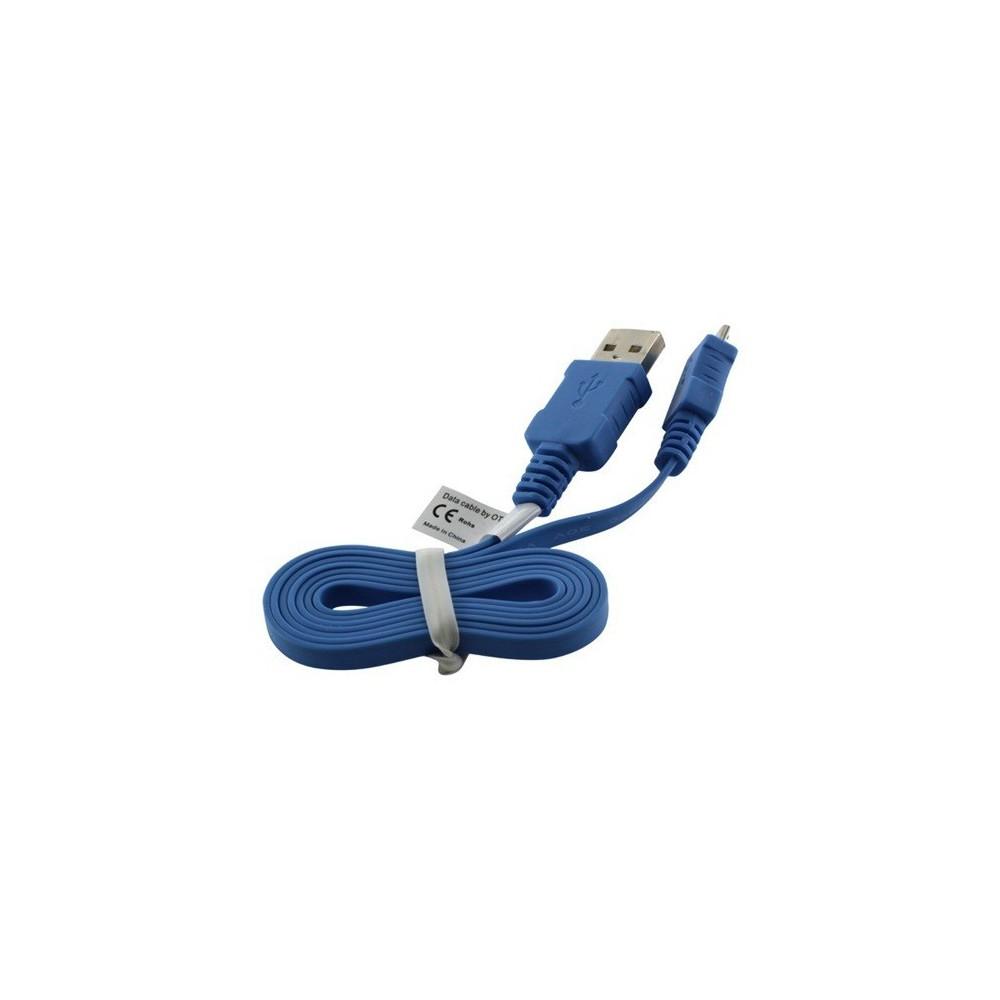 USB Kabel Ladekabel Datenkabel Flachkabel für Nokia 225 Dual SIM