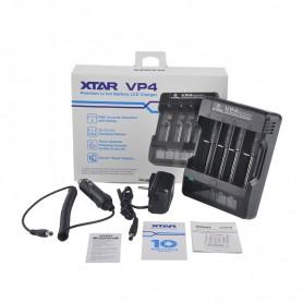XTAR - XTAR VP4 IMR Lithium batterij-oplader - Batterijladers - NK023 www.NedRo.nl