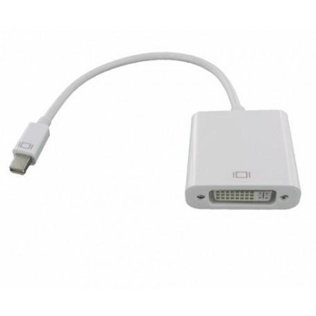 NedRo, Mini DisplayPort la DVI female Adaptor pentru Apple MacBook, DVI si DisplayPort adaptoare, YPC297-CB, EtronixCenter.com